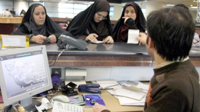 Banks in Iran will not be able to communicate with banks in Europe after sanctions kick in on Saturday.