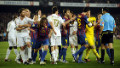 Clashes between fierce Spanish rivals Real Madrid and Barcelona are always a feisty affair