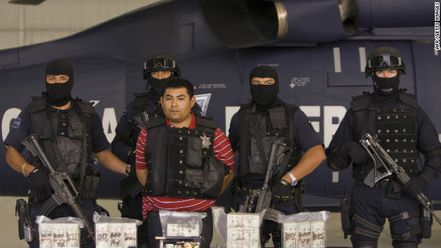 Jaime Gonzalez Duran, seen here after his arrest in 2008, has been convicted of organized crime and kidnapping (file photo).