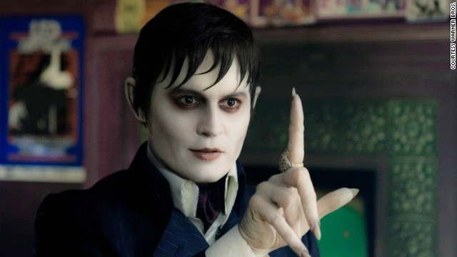 Johnny Depp stars as Barnabas Collins in Tim Burton's 