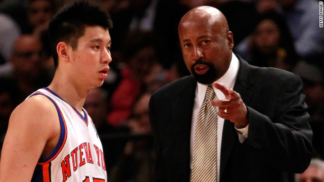 Lin's star fading as Knicks falter