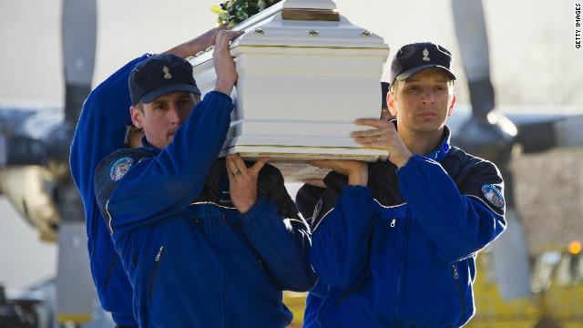 Bélgica rinde homenaje a los 28 fallecidos en accidente de autobús