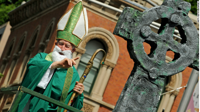 Was Saint Patrick a slave-trading tax collector?