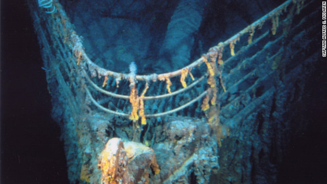 Trips to the Titanic (pictured) can cost as much as $60,000, says Captain Alfred McClaren U.S. Navy (ret) Ph.D. who has led numerous trips to the sunken wreck.