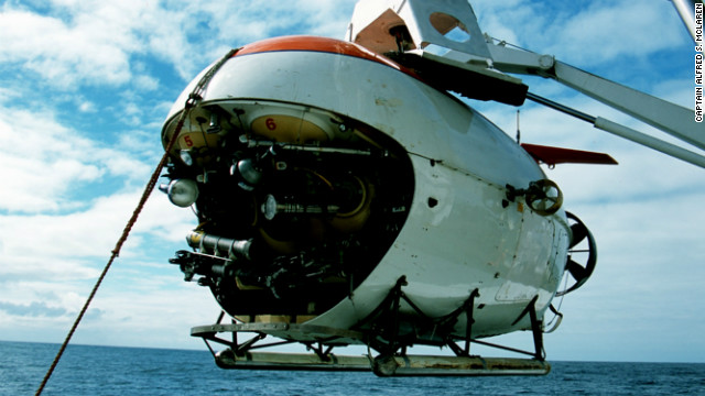 UK-based company, Deep Ocean Expeditions, takes tourists down to the depths of the Atlantic Ocean on highly specialized Russian-leased MIR submersible vessels.
