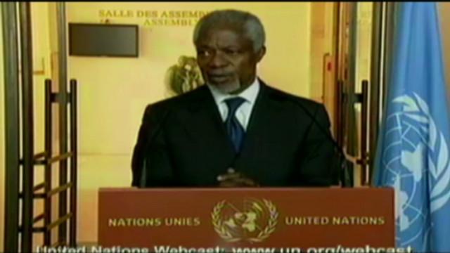 Rusia apoyará los esfuerzos de Annan en Siria