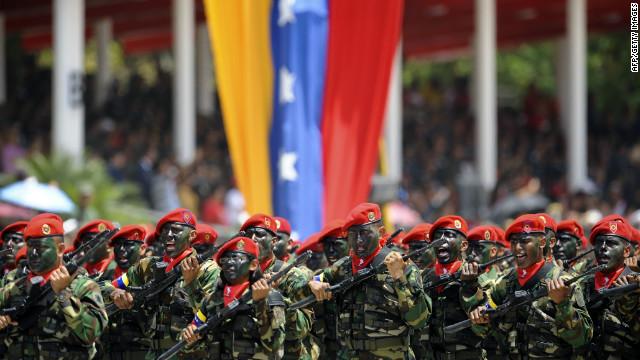 Venezuela refuerza militarmente sus fronteras contra el narcotráfico