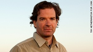 Peter Bergen during coverage of CNN\'s Anderson Cooper 360 on location in Afghanistan