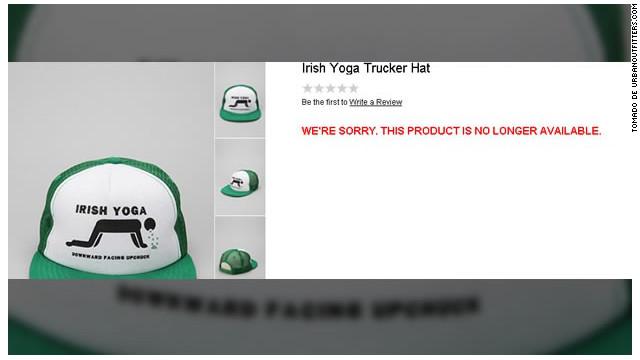 Una línea de ropa sobre el Día de San Patricio ofende a los irlandeses