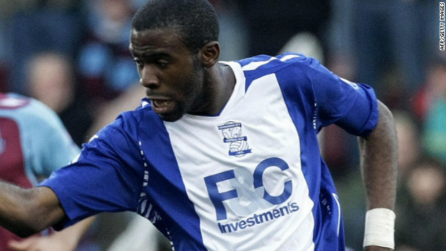 Muamba made his name at Birmingham City, where he made a permanent move in 2007 after impressing while on loan from English Premier League club Arsenal.
