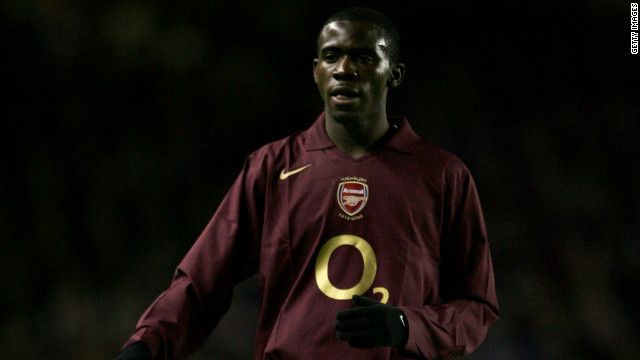Muamba had limited first-team opportunities at Arsenal, but appeared in a League Cup match against Reading in November 2005.