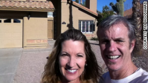 Tim Woodward and Susan Rust put a contract on their home the day it hit the market.