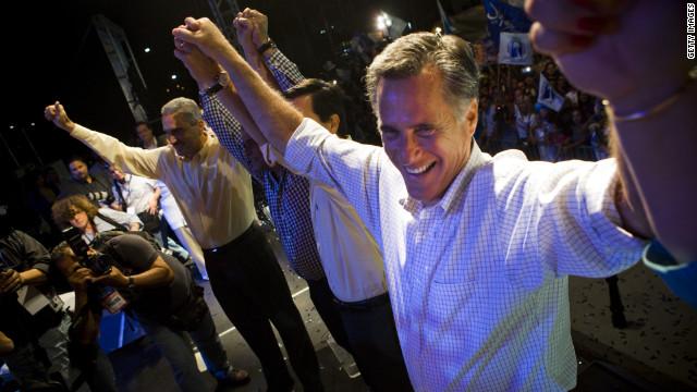 Romney gana las primarias en Puerto Rico, proyecta CNN