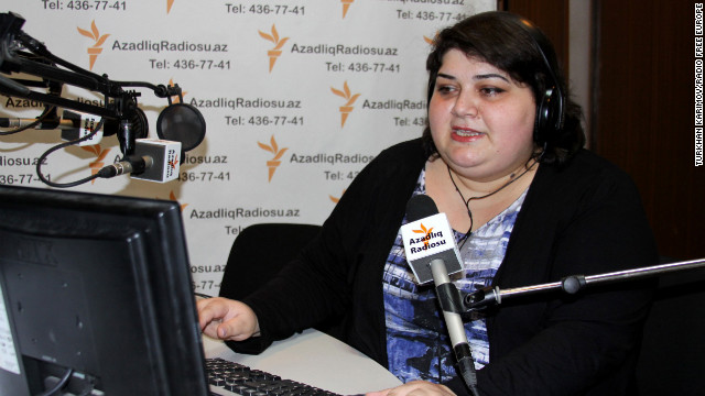 Radio host Khadija Ismayilova has been highly critical of the Azerbaijani government.