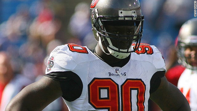 In the NFL, former Tampa Bay and Chicago Bears defensive end Gaines Adams was found dead at home in 2010, with the coroner ruling it was due to cardiomyopathy.