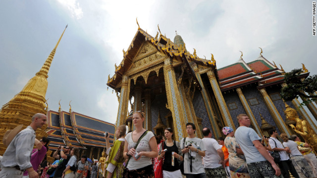<strong>Visitors: 15.8 million</strong><!-- --> </br><strong>Growth: 14.6% </strong><!-- --> </br>Wat Phra Kaew (Temple of the Emerald Buddha) is one of many popular attractions in Bangkok.