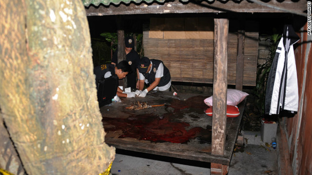 Suspected terrorists killed in shootout with police in Bali