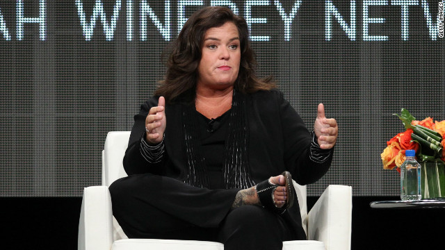 OWN cancels Rosie O&#039;Donnell&#039;s show