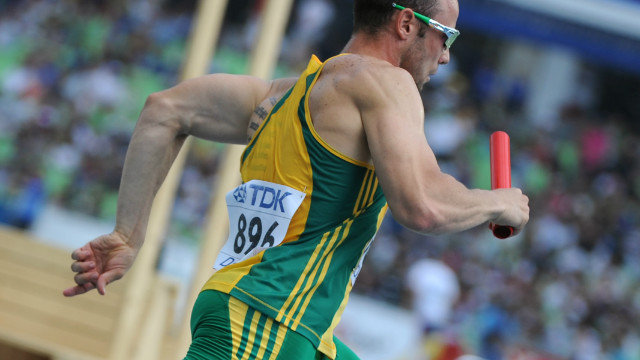 Pistorius helped South Africa to the final of the 4x400m at the 2011 World Championships in Daegu, but was left out of the quartet which won silver. Having run in the heats, he was still awarded a medal, becoming the first disabled athlete to achieve that feat.