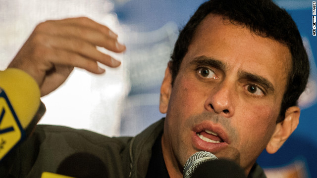 """Hugo Chávez denuncia presunto """"atentado"""" contra el opositor Henrique Capriles"""