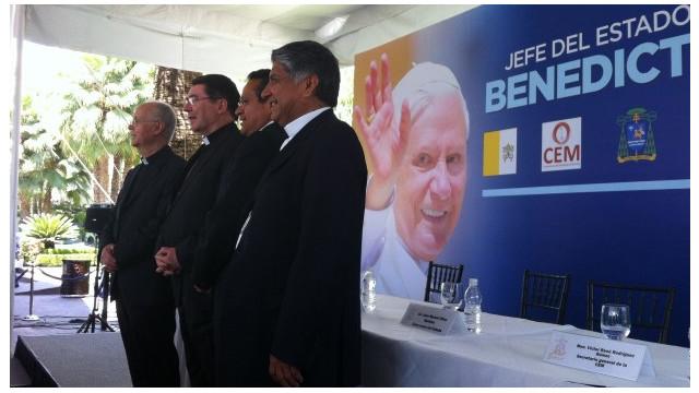 La Iglesia Católica de México descarta una agenda política durante visita del Papa