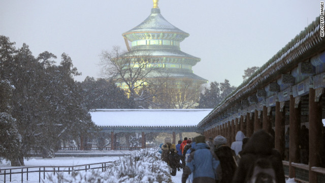 Though it is growing and changing all the time, Beijing's imperial history is still visible today. <br/><br/>Sacrifices were made at the Temple of Heaven -- now a UNESCO World Heritage Site -- for almost 500 years, until the practice was banned at the beginning of the 20th century.