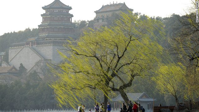 The summer residence for the imperial court was the Summer Palace, which features a lake, park, temples and palaces.