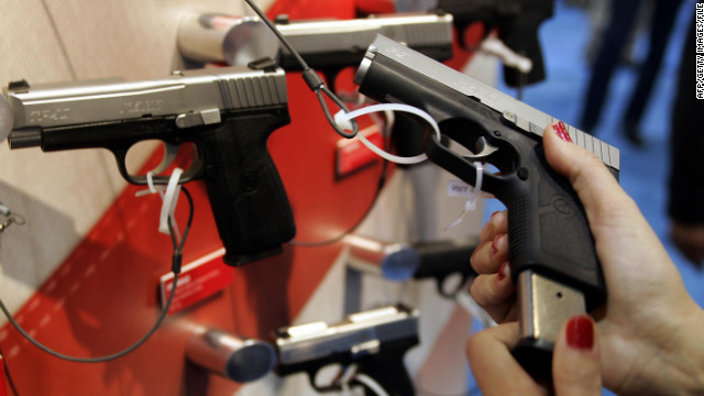 Criminal record top reason for U.S. gun-check rejection