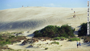 Tackle Jockey\'s Ridge in the Outer Banks.