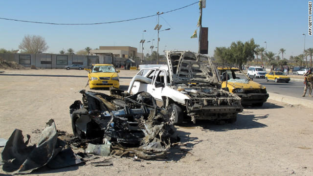 Bombings rock Iraq on invasion anniversary