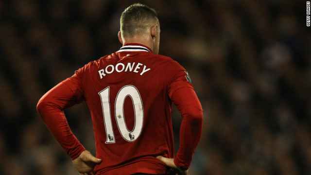 England star Wayne Rooney penned a lucrative five-year contract with Manchester United in October 2010, after initially declaring that he wanted to leave the Old Trafford club.