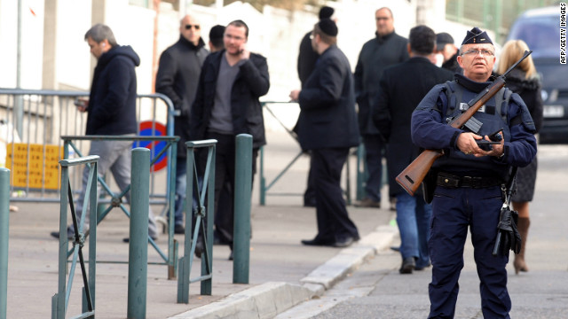 TV station gets video of France shootings