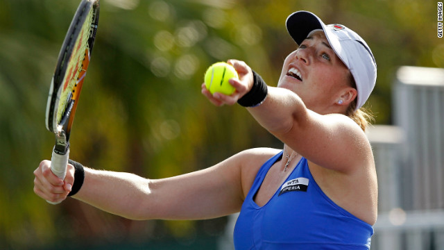 Russia's Alisa Kleybanova has won two WTA Tour titles since turning professional in 2003.