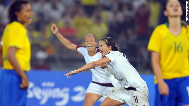 Brazil's women's team has also suffered Olympic despair, losing the 2008 final to the U.S. after taking silver in Athens four years previously.