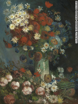 """Still life with Meadow Flowers and Roses,"" a painting dismissed for years as the work of an unknown artist has been identified as a piece by Vincent Van Gogh."