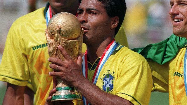 Romario was the toast of Brazil in 1994 when the Samba Boys won the World Cup for the fourth time, beating Italy 3-2 on penalties in the final in the United States. 