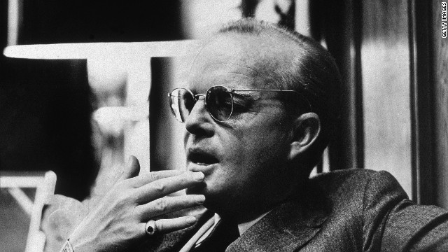 Truman Capote: The famed author invented scenes and dialogue for his best-selling book &quot;In Cold Blood,&quot; which he described as a &quot;nonfiction novel.&quot;
