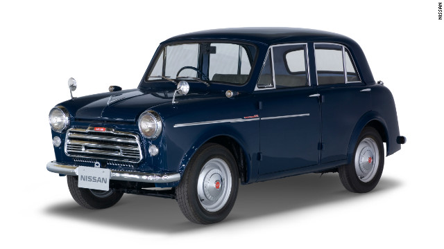 The Datsun 1000 Sedan Model 210, introduced in October 1957. The next year, the Datsun brand is introduced to the U.S. market.