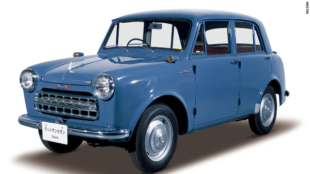 The Datsun Sedan 113, introduced in 1956.