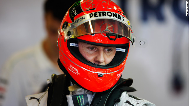 German driver Michael Schumacher returned to Formula One in 2010, having initially retired in 2006.