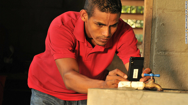 Created by NGO Water for People, FLOW (Field Level Operations Watch) uses mobile phone technology to speed up monitoring and maintenance of potentially thousands of vital water points in the developing world.