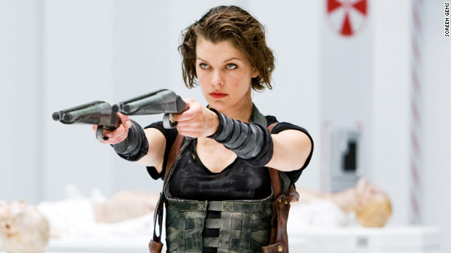 "Based on the survival horror video games, ""Resident Evil"" (2002) follows Alice, played by Milla Jovovich, and a group of commandos who try to contain a virus that creates flesh-eating creatures. The film was <a href='http://boxofficemojo.com/franchises/chart/?id=residentevil.htm?cnn=yes' target='_blank'>a commercial success</a> and led to three sequels. The fifth installation, ""Resident Evil: Retribution,"" is set to release in 2012."