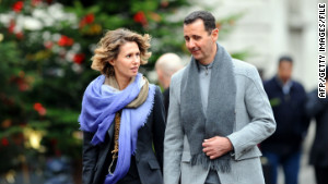 Experts say it\'s uncertain exactly how much influence first lady Asma al-Assad holds in Syria.