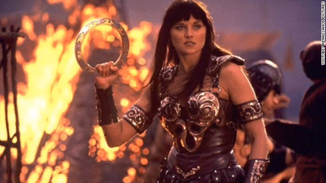 "When the character Xena, a warrior played by Lucy Lawless, first appeared on the ""Hercules: The Legendary Journeys"" TV series, she immediately became a hit. Xena was so popular that the spin-off series ""Xena: Warrior Princess"" was created in 1995. The show's finale aired in 2001."