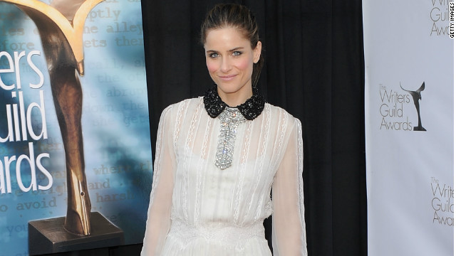 Actress Amanda Peet returns to TV tonight on the new NBC series,