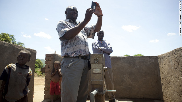 Water for People has joined up with Dutch open-source software company Akvo to improve its features. But it has already seen work in the field, helping the Liberian government -- in conjunction with the World Bank -- to map 10,000 water points in the country. 