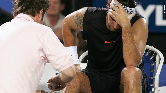 Injuries hampered Philippoussis throughout his career and after the Davis Cup in 2003 he endured three years of disappointing form and persistent knocks.