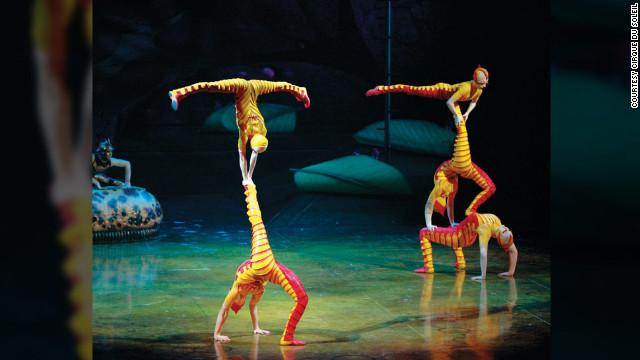 Cómo recluta a sus payasos, trapecistas y gimnastas el Cirque du Soleil