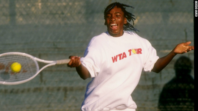 She began her glittering professional tennis career in 1994, at the tender age of 14.