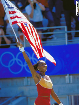 It proved to be a landmark year for Williams. She won gold in the women's singles at the 2000 Sydney Olympics, as well as the doubles title with Serena. She then secured her first U.S. Open title by beating compatriot Lindsay Davenport.